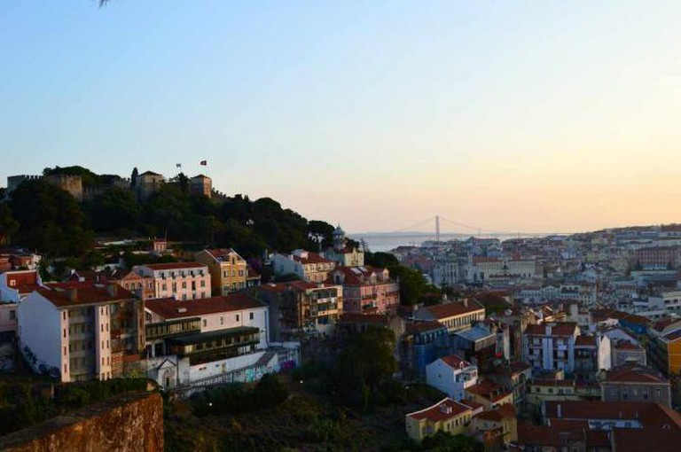 The view from Miradouro Sophia de Mello Breyner Andresen