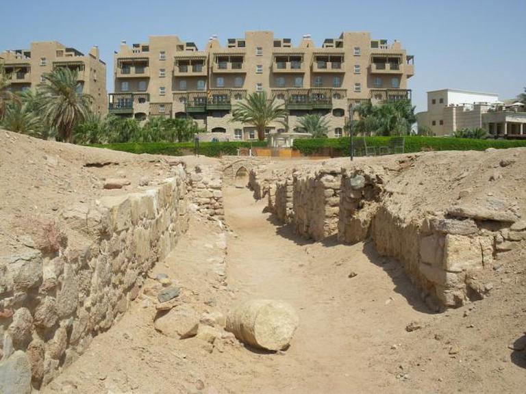 Ruins of Ayla in Aqaba, Jordan l