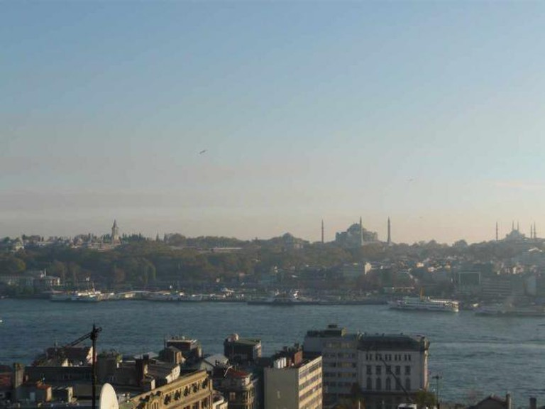 View from Konak in Galata