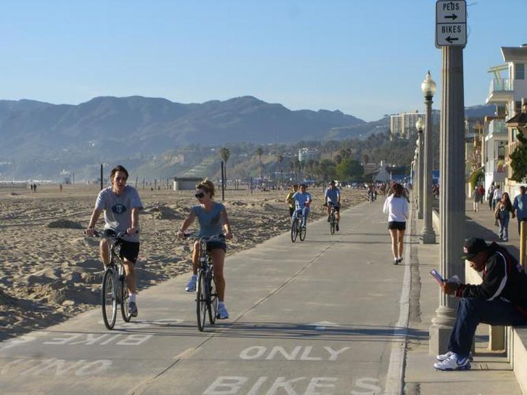 Marvin Braude Bike Trail at Santa Monica | © Eric Fredericks/Flickr