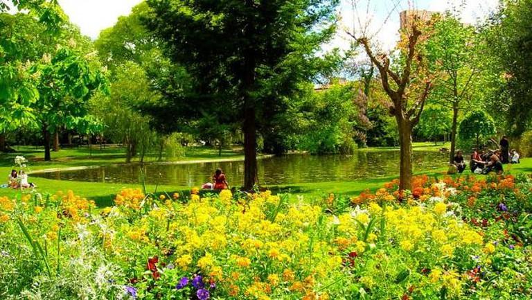 Les jardins de l'esplanade