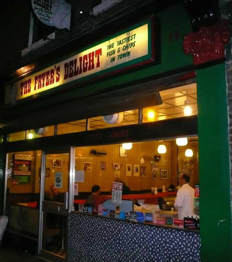 Exterior of The Fryer's Delight © The Fryer's Delight
