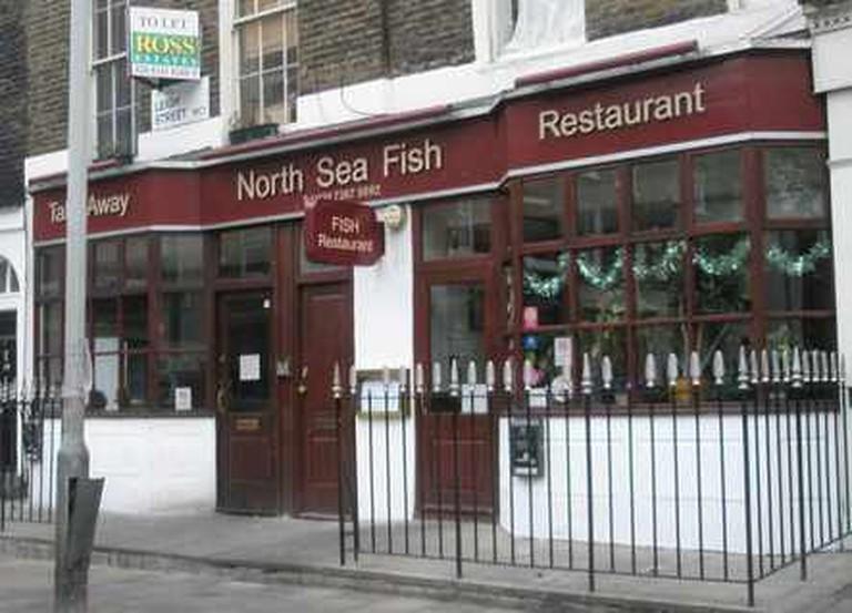 Exterior of North Sea Restaurant © North Sea Restaurant