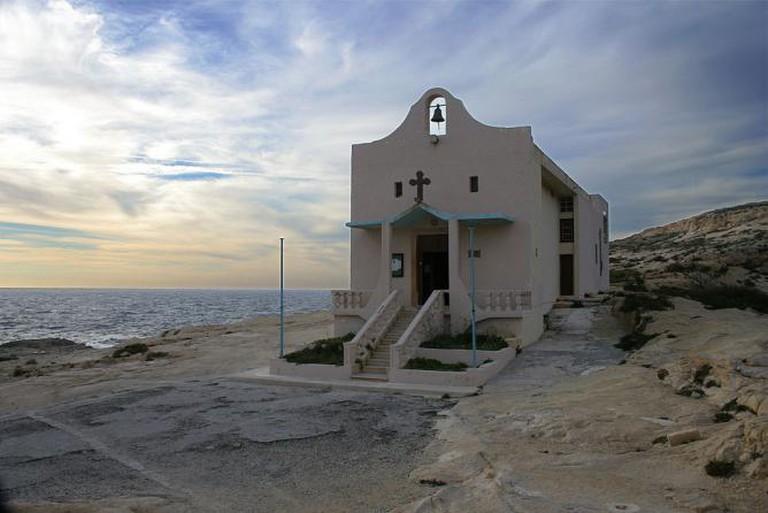 The chapel at San Lawrenz, Gozo