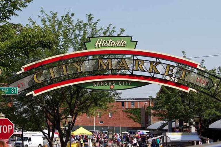 Entrance to Historic City Market