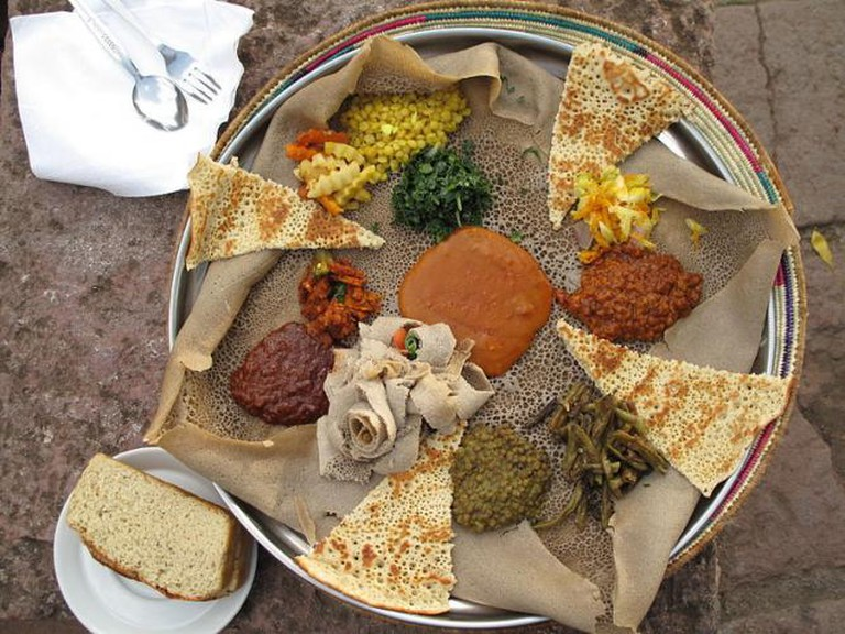 A typical injera | Maurice Chédel / WikiCommons