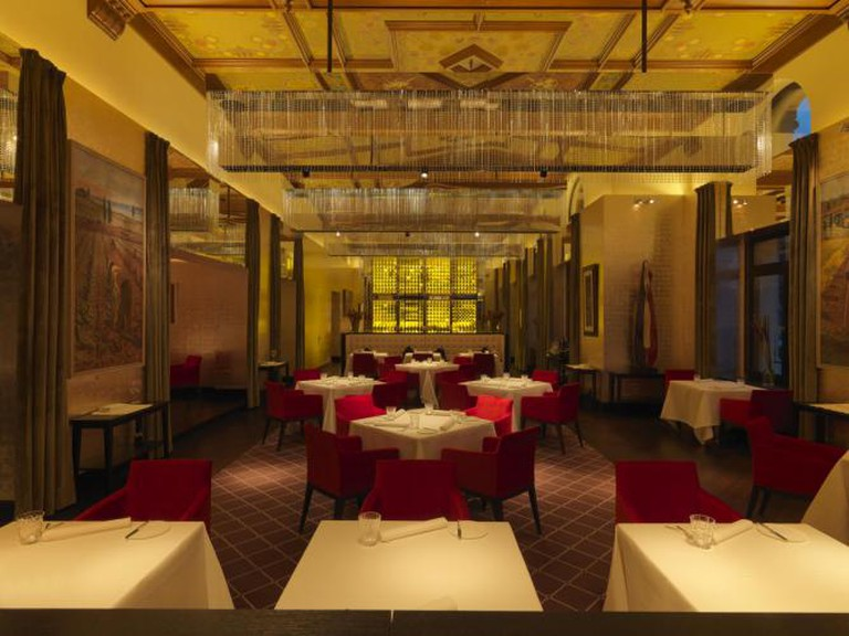 © The Restaurant at The Dolder Grand | Courtesy of The Dolder Grand Hotel