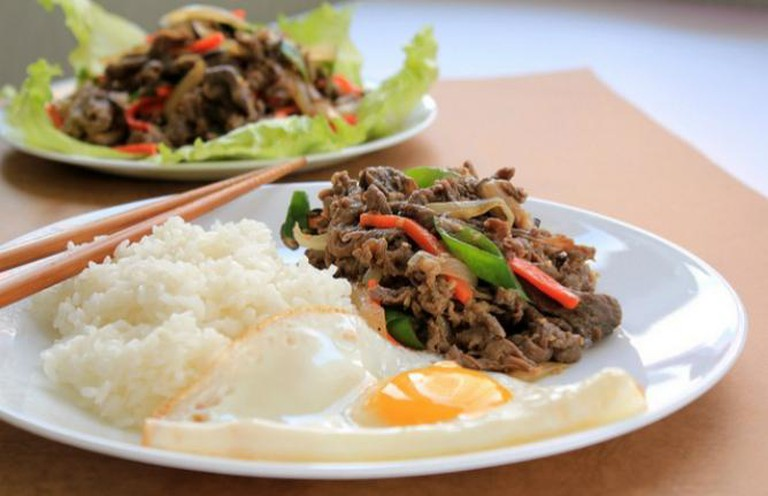 Korean marinated beef [Bulgogi] | © Chloe Lim/Flickr