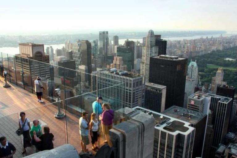 New York Rockefeller Center Observatory