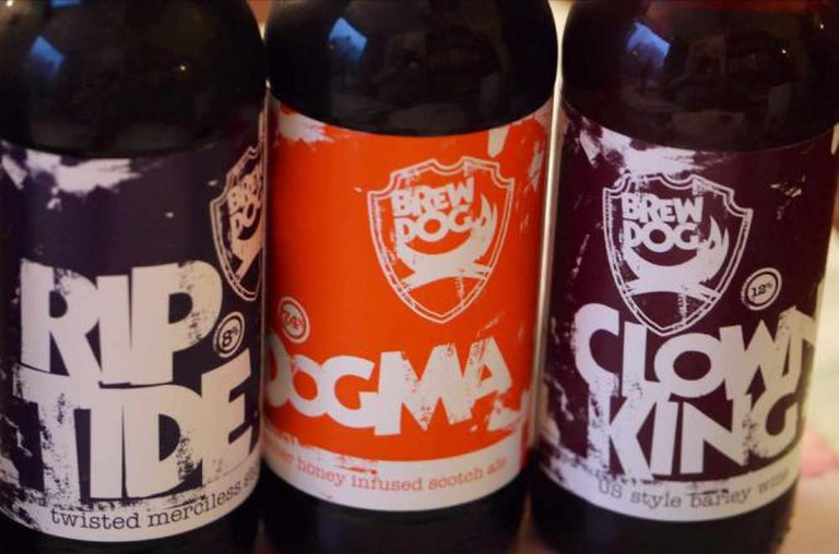 BrewDog bottles | © Smabs Sputzer/Flickr