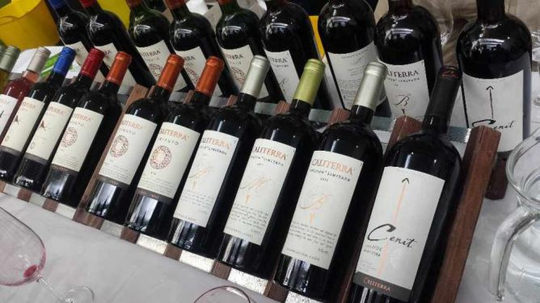 Caliterra Wines at the Wines of the Beautiful South Wine Tasting 2014 at Kensington Olympia | © Dominic Lockyer/Flickr