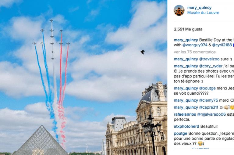 Musée du Louvre | © mary_quincy/Instagram