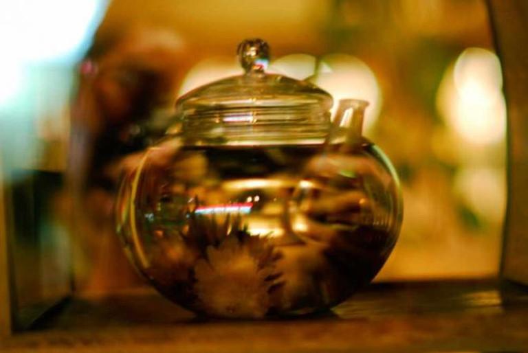 Glass teapot © Mo Riza/Flickr