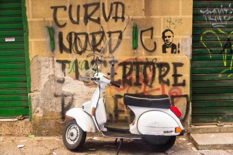 Sicilian graffiti © AudreyH/Flickr
