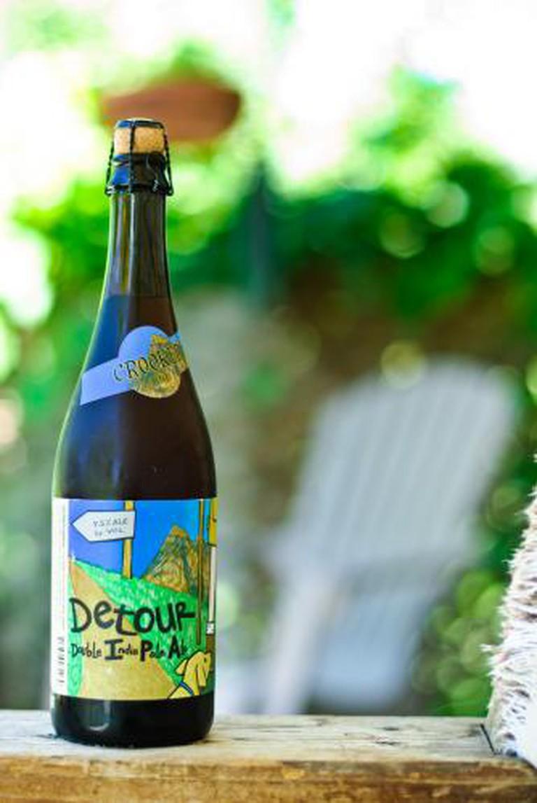 Uinta Brewing's Detour Double India Pale Ale