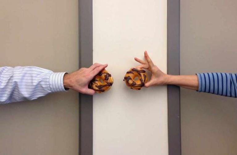 two donuts | © PROBarbara Eckstein/Flickr