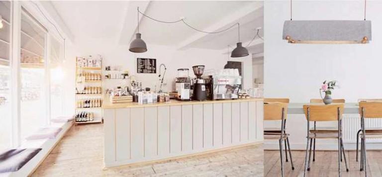 The Interior of Koffie & Ik in Utrecht