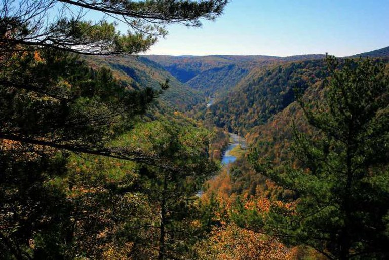 Pine Creek Gorge in Leonard Harrison State Park, Tioga County | © fishhawk/Flickr