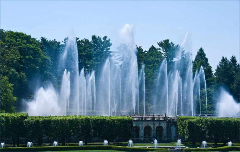 Fountains at Longwood Gardens, Chester County