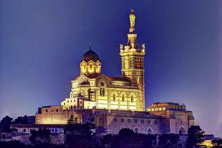 Notre-Dame de la Garde basilica | © SeldenVestrit/Flickr