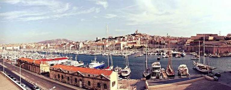 Marseille's Old Port | © IngoMehling/WikiCommons
