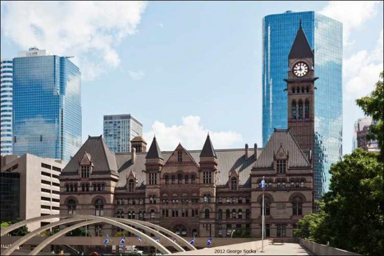 The Old Toronto City Hall | © George Socka/WikiCommons