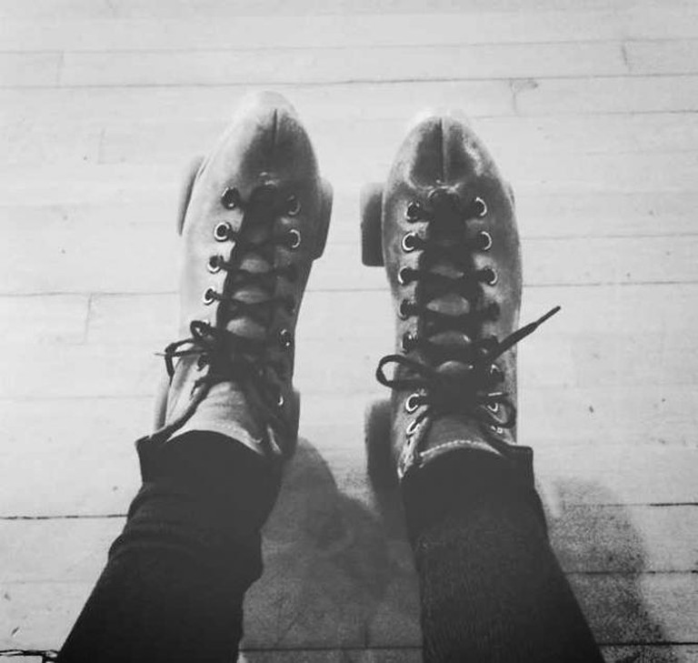 A pair of 'hipster' roller skates © Seleba Ouattara