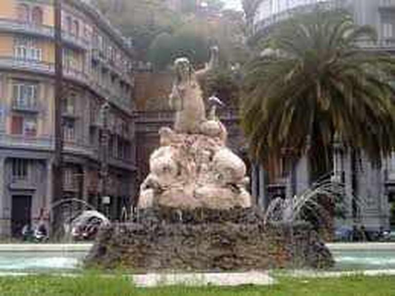 Fountain in Chiaia│