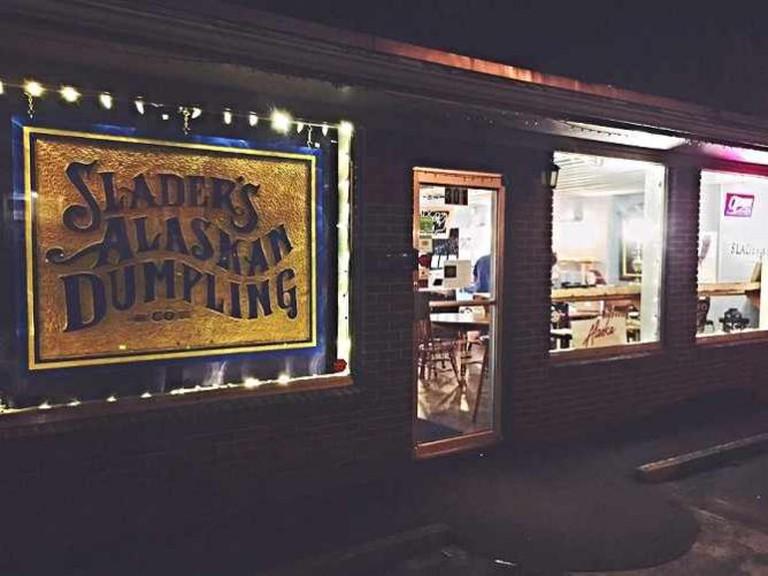Courtesy of Slader's Alaskan Dumpling Co