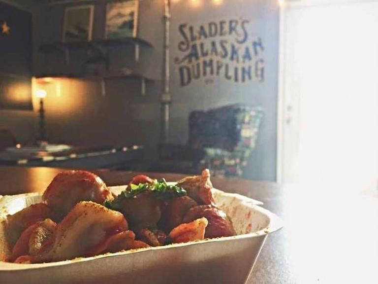 Courtesy of Slader's Alaskan Dumpling Co.