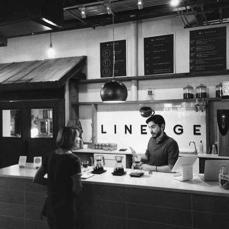 Lineage Coffee Roasting at East End Market
