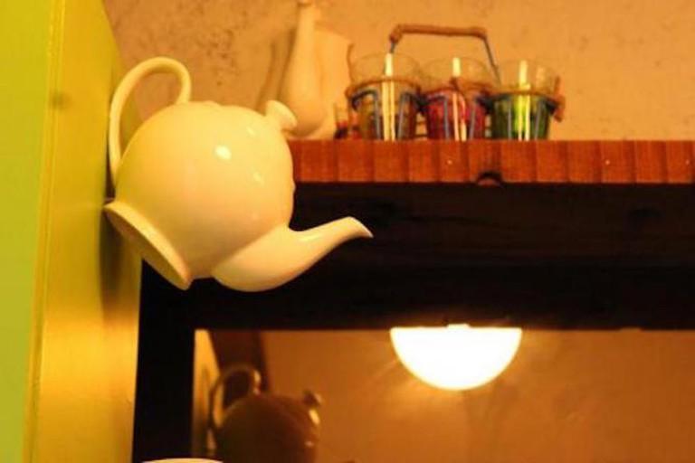 Quirky interiors at Tea and Tea | © Tea and Tea