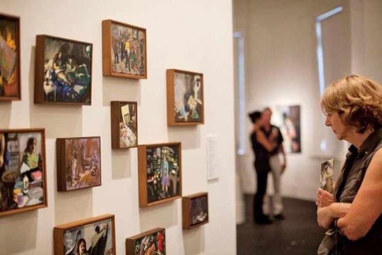 Wendy Sharpe installation view | © S.H. Ervin Gallery