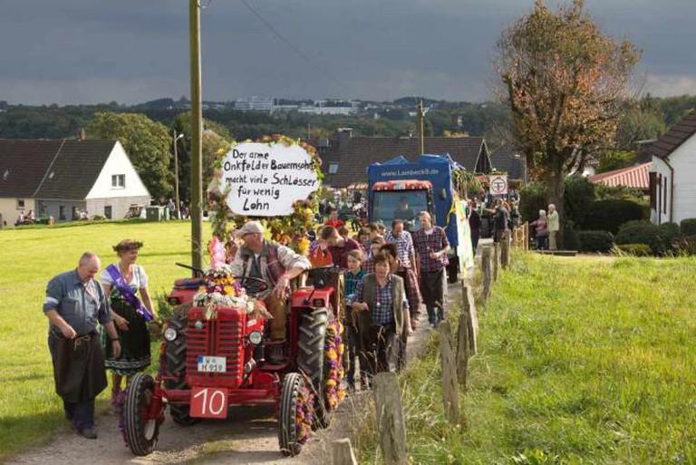 Erntedankfest village parade | Ⓒ André Shäfer/Flickr