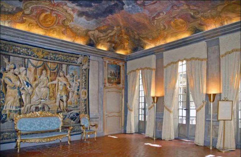 A Room at the Palais Lascaris