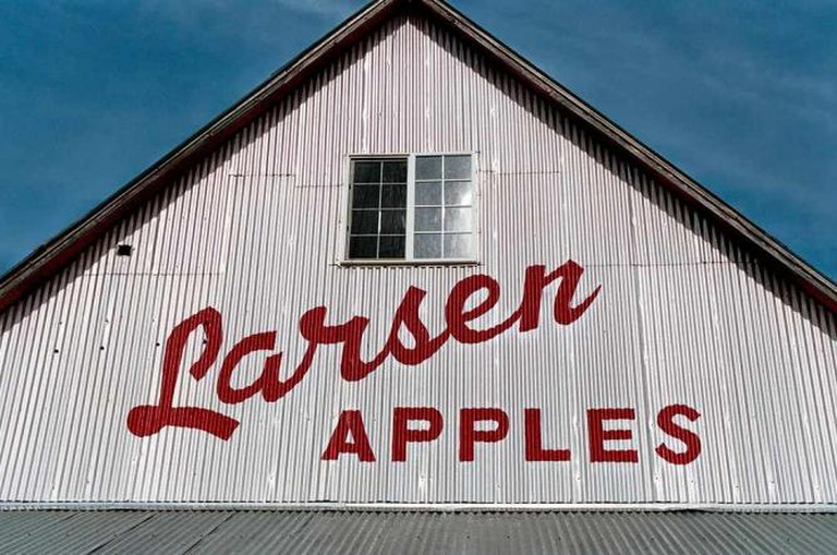 Larsen Apple Barn © Robert Couse-Baker/Flickr