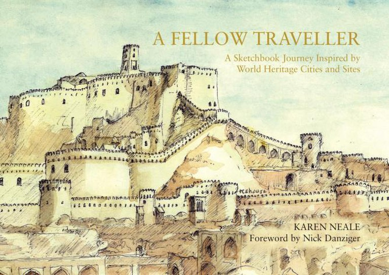 'A Fellow Traveller: A Sketchbook Journey Inspired by World Heritage Cities and Sites' by Karen Neale, 2015 | Courtesy of Karen Neale