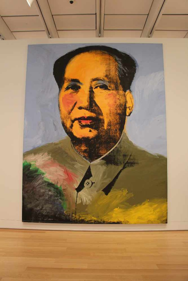 Andy Warhol, Mao, 1973, Art Institute of Chicago, Chicago, Illinois | © Jason Raia/FlickrAndy Warhol, Mao, 1973, Art Institute of Chicago, Chicago, Illinois | © Jason Raia/Flickr