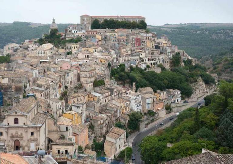 Panoramic view of Ragusa Ibla I © Pia Staigmueller