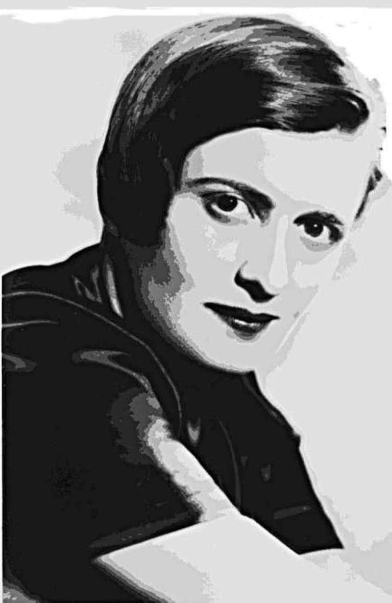 Ayn Rand disegno | © StefanoRR/Wikimedia Commons