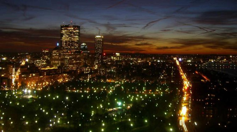 Boston Dusk © Walknboston