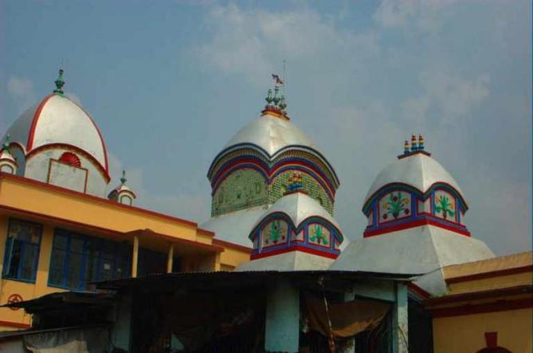Kalighat temple roof | © Giridhar Appaji Nag Y/WikiCommons