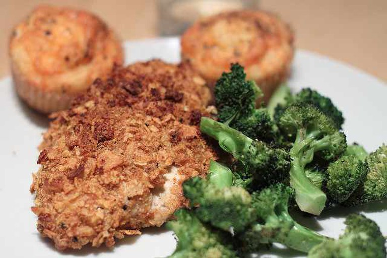 Oven Fried Chicken Entree