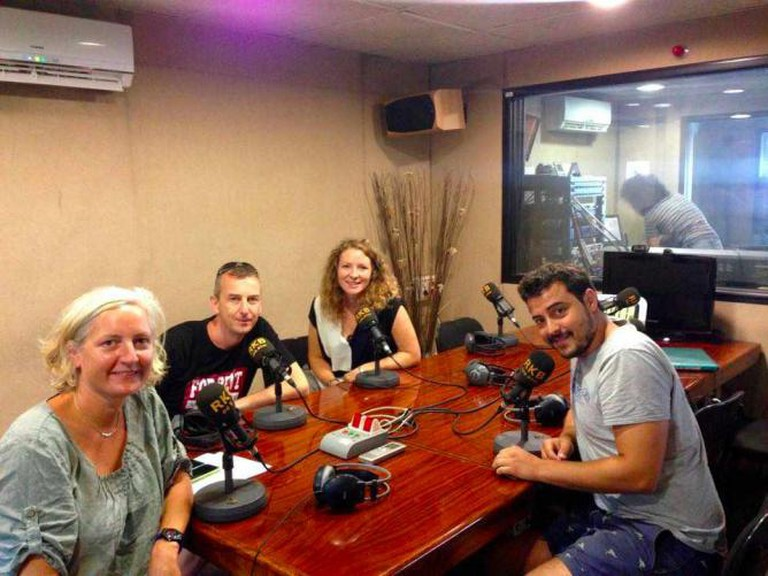 English Radio at RKB with Jordi from Nømad Coffee and Tara from The Culture Trip's Barcelona Hub
