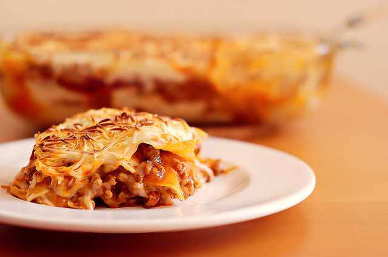 Lasagne, my favorite dinner | © Gloria García/Flickr