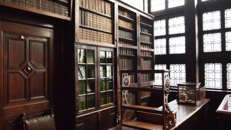 The Plantin-Moretus 18th Century Bookshop / © James Radke