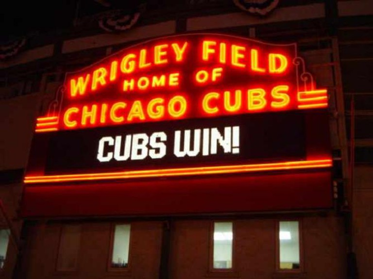Chicago Cubs Win © LBJJacob09/Wikicommons
