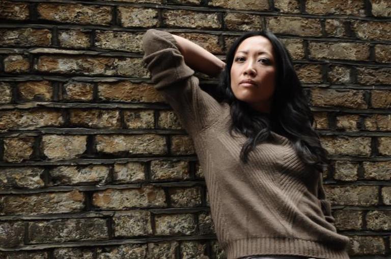 Nancy modelling Tengri knitwear | Courtesy of Tengri
