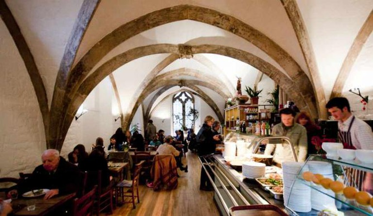 The Vaults Café Interior | Courtesy of Vaults & Garden Events