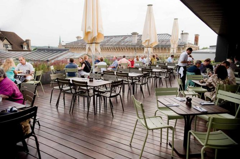 The Ashmolean Dining Room Terrace
